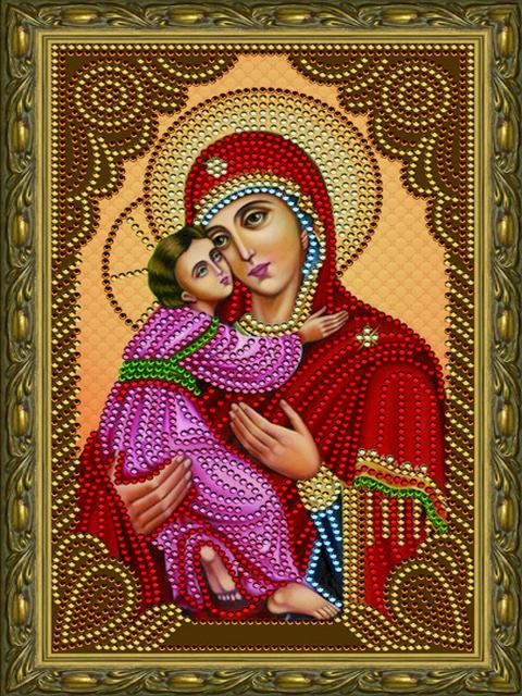 Владимирская икона Божией Матери CDX 001