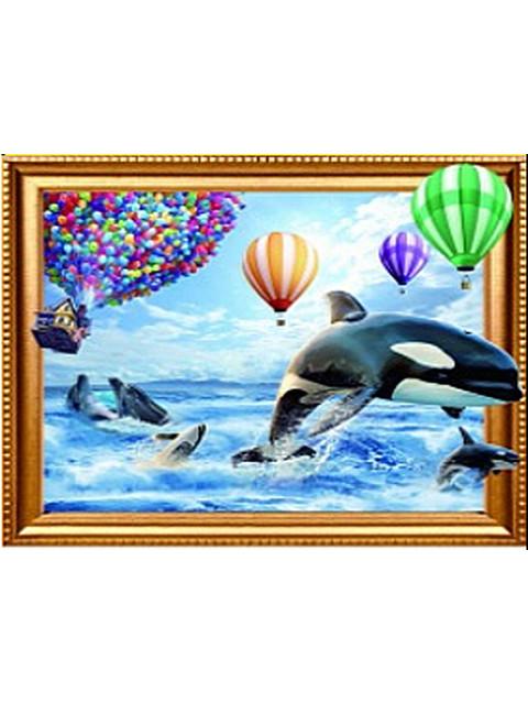 Играющие дельфины SGA 0629