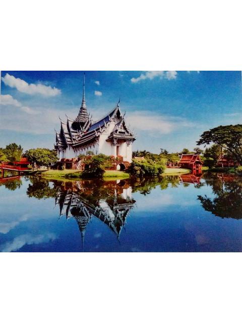 Древний Таиланд QA 201572 (ПОЛНАЯ ВЫКЛАДКА, КРУГЛЫЕ СТРАЗЫ)